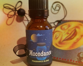 Moondance Perfume Oil / Essential Oil / Frangrance Oil / Jojoba Oil / Organic Jojoba Oil / .5 oz dark bottle / Euro dropper