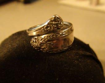 vintage sterling spoon ring