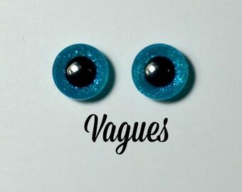 Eyechips 13 mm - Coloris Vagues  Taille Pullip Modèles Récents