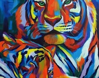 Tigers - Giclee print