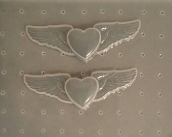 Winged  Heart Mold
