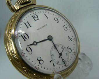 Pocket watch Waltham 1902, gold