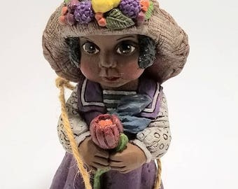 African American Figurine 'ADRIELLE' (Limited Edition Debbie Bell Jarratt Collection) #625