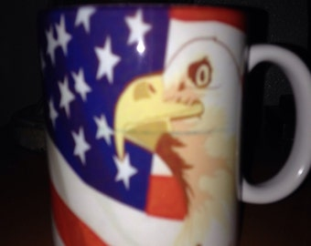 11oz coffe mug with Eagle