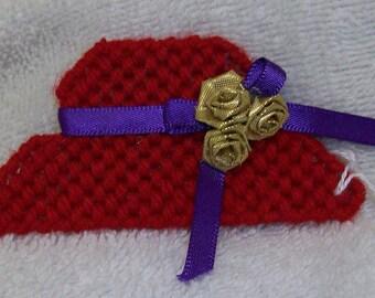 2149B Red Hat Society Magnet