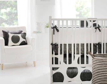 Spot On Charcoal Baby Bedding Set