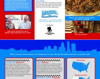 Custom Brochure Design, Trifold, Bifold, 4 panel, 3, 2, panel, unlimited, revisions, custom, brochure, design, graphic, art,