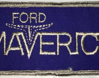 Ford Maverick Sew On Patch