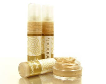 Mineral Foundation, Light Sample, Cream Foundation to even your skin tone, Face Moisturizer with light to medium coverage, Mineral cream