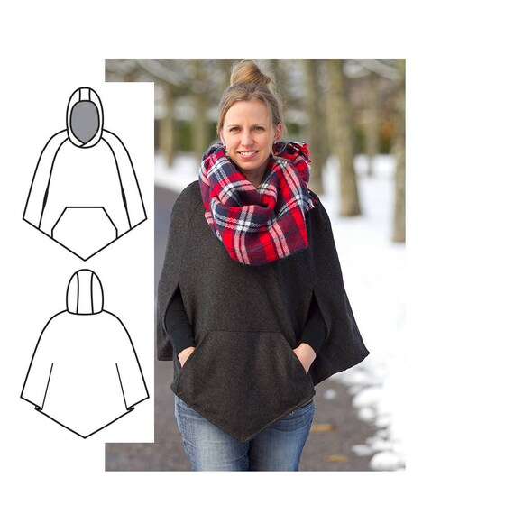 Cape Sewing Pattern. Womens cape pattern. Women\'s Sewing