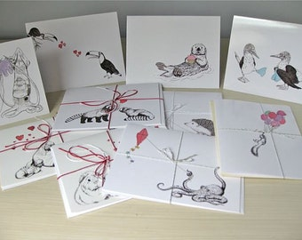 Set of 8 Cards