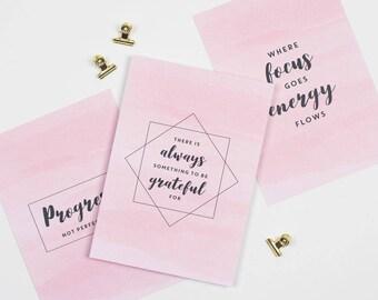 Set of 3 motivational prints