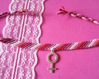 Lesbian pink strap #14