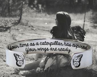 Graduation | Graduation Gift | College Graduation | Class of 2018 | High School Grad | Your time as a caterpillar | Korena Loves