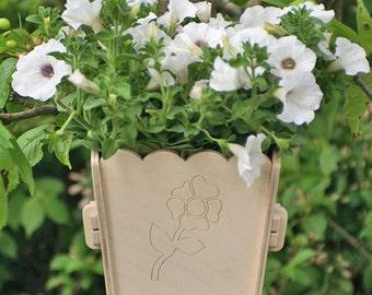 Flower pot   planter for walls *FLOWER
