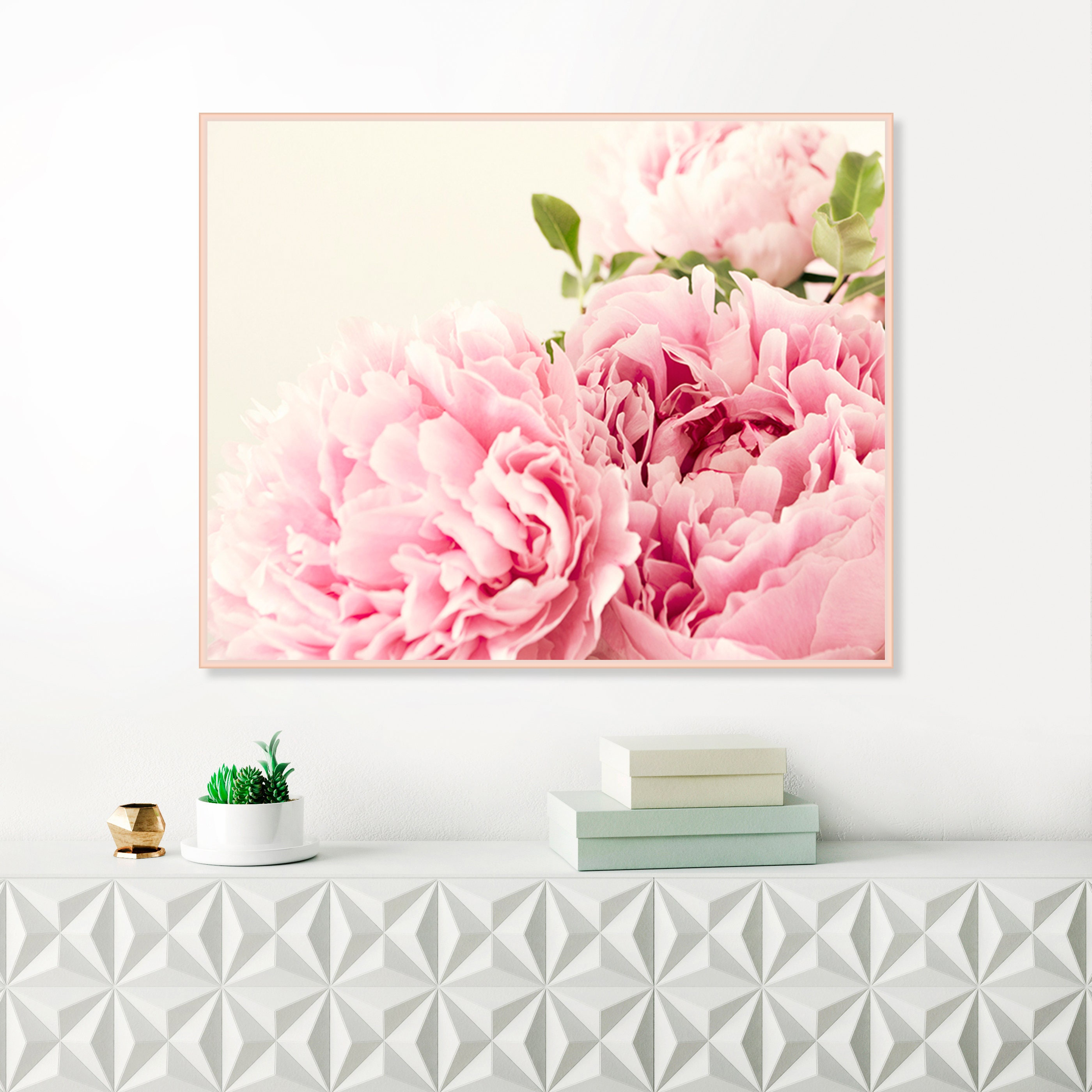 Peony print peonies photography pink flower wall art extra large peony print peonies photography pink flower wall art extra large printable floral decor girls nursery decor above bed art mightylinksfo Image collections