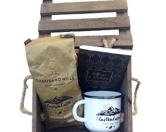 Coffee Gift Basket for Any Coffee Lover