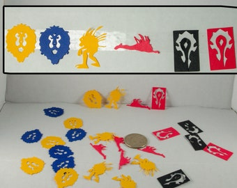 World of Warcraft Themed Confetti