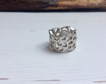925 Silver Lace Ring