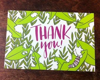 Thank You! Postcard