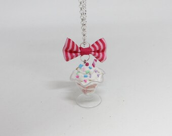 """necklace """"ice cream Cup"""""""