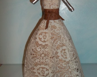 Barbie Leather and Lace Evening Gown