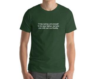 Daddy, Hunter Green Hanky Code, Short-Sleeve Men's T-Shirt