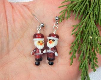 Santa Claus Christmas Earrings (CE14)