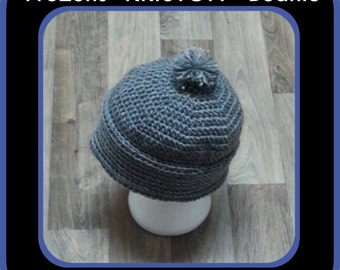 """FROZENS KRISTOFF HAT!  See the whole """"Frozen"""" Collection!"""