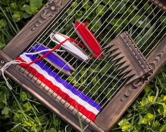Weaving Loom, Lap Loom, Wooden Loom,Weaving Loom Frame , small loom, Weaving Loom Kit, Ultimate DIY Wood Weaving Loom Kit, Hobby gift