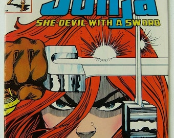 Red Sonja, She devil with a sword. Issues 1 to 10