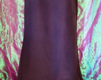 Epic vintage 90s black full length mermaid fishtail skirt Sabo Skirt - Size XS