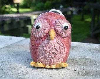 Owl bird feeder for sunflower seeds/ suet sticks/ peanuts