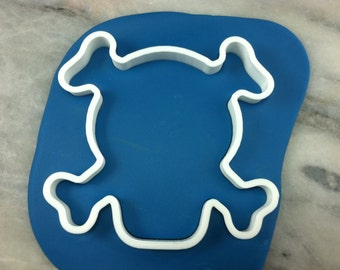 Skull & Crossbones Cookie Cutter - SHARP EDGES - FAST Shipping - Choose Your Own Size!