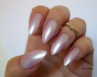 Kardashian inspired nails, Nail designs, Nail art, Stiletto nails, False nails, Acrylic nails, Pointy nails, Fake nails, press on nails,