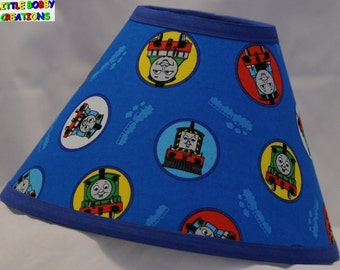 Thomas The Train Lamp Shade (10 Sizes To Choose From)