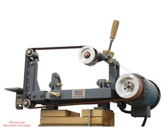 """2x72"""" belt grinder plans"""