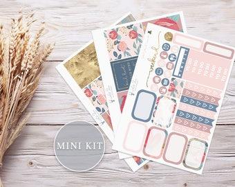 Planner Stickers   Mini Kit - Sweet Florals   Erin Condren Vertical