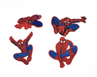 Spider-Man embroidered patches Cartoon patches embroidered embroidered patch iron on patches iron on patch sew on patch  (A20)