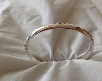 925Sterling Silver Whittled Cuff (BC201)