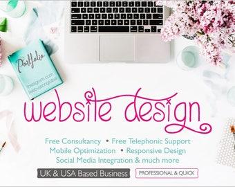 Custom Wordpress Website Design, Website Design, Wordpress Web Design, Blog Design, Business Website