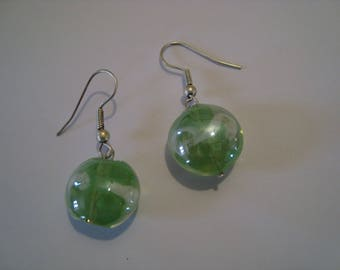 Vienna Green 1 Stud Earrings