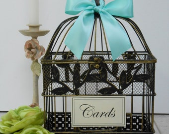 Wedding Birdcage Card Holder | Wedding Card Box | Wedding Wishing Well | Home Decor