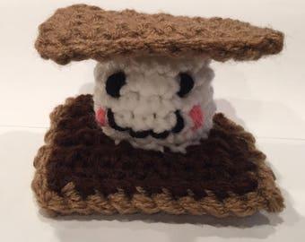 Crochet S'more Mini Plushie