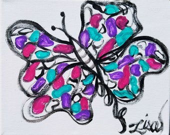 A Bubbly Butterfly by Lisa