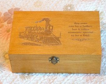 Engraved box, Personalized Engraved box, Memory box, Wooden box, Keepsake box, Custom Wooden Boxes, Storage box, Wooden jewellery box