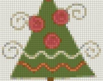 E-Pattern Holiday Tree Cross Stitch Pattern 11