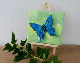Butterflies, Butterfly Decor, Butterfly wall art, Swallowtail butterfly, Butterfly sculpture, 3D butterflies, butterfly gift, polymer clay