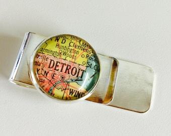 Detroit Money Clip