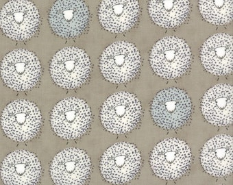 Sheep Grey - DARLING LITTLE DICKENS - by Lydia Nelson for Moda Fabrics - Toast - 49002 16
